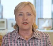 Hillary Clinton addresses Netroots Nation July 16