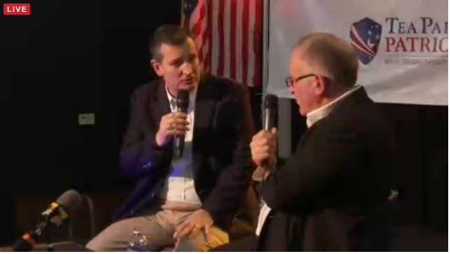 Trevor Loudon interviewing Senator Ted Cruz