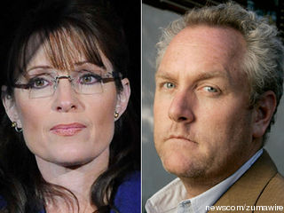 Saran Palin and Andrew Breitbart