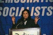 Hida Solis, DSA national convention, Los Angeles 2005