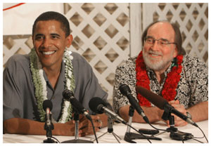 Barack Obama, family friend Neil Abercrombie