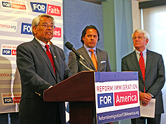 "Eliseo Medina speaking on ""immigration reform"""