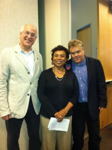 Michael Lighty, Barbara Lee, Tim Carpenter