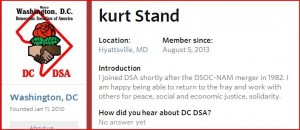 From the Metro Washington DSA website
