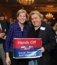 Tim Carpenter, Elizabeth Warren