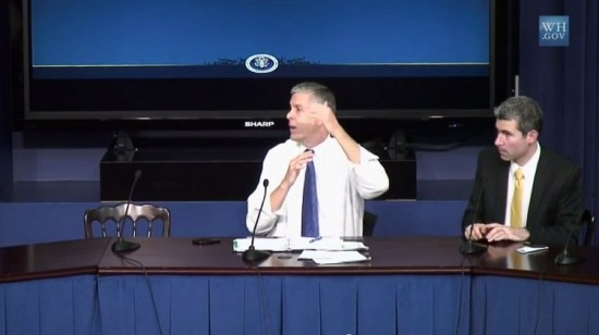 Arne Duncan via YouTube White House (screenshot)