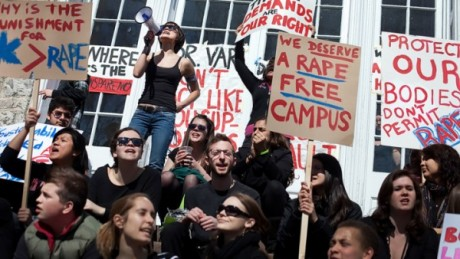 We deserve a rape free campus Christine Baker_The Patriot-News _Landov