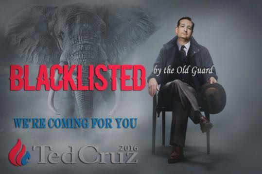 Ted Cruz Black Listed