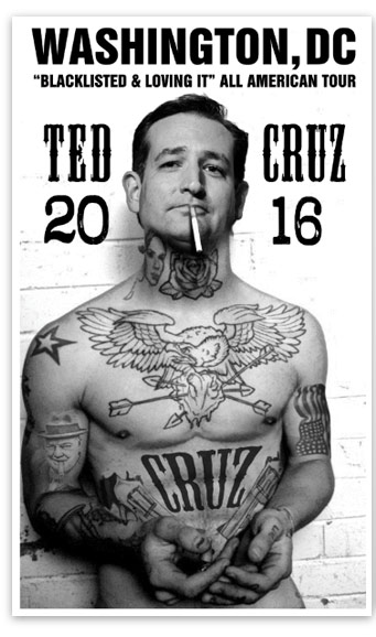 Ted Cruz Blacklisted