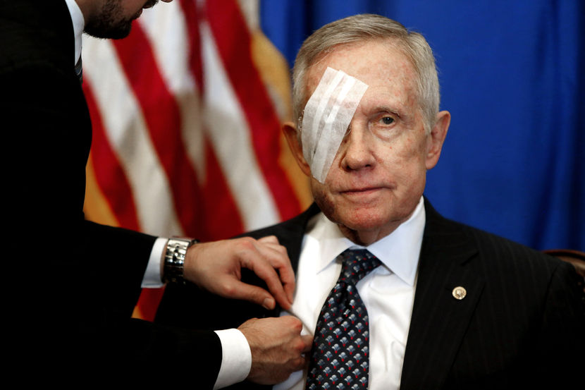 Senate Minority Leader Harry Reid