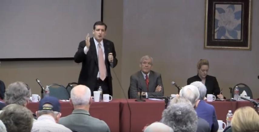 Ted Cruz on how CFR robs U.S. sovereignty in 2011 (screenshot)