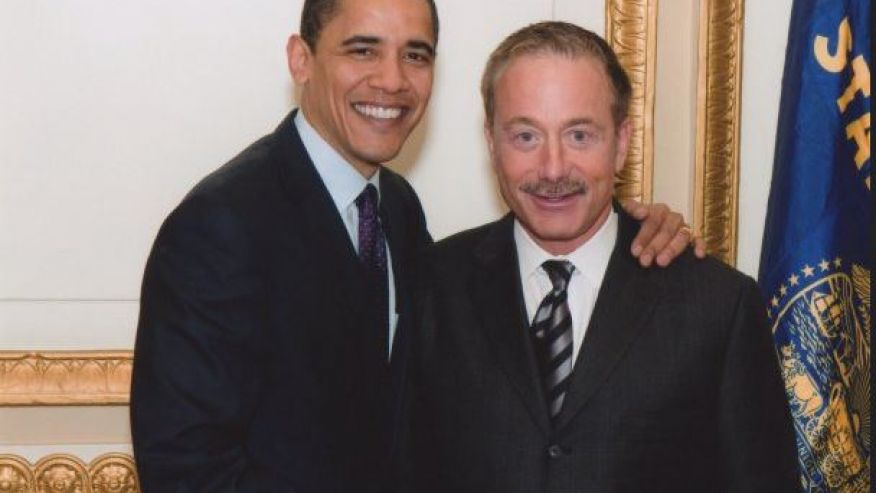 President Obama with Terry Bean