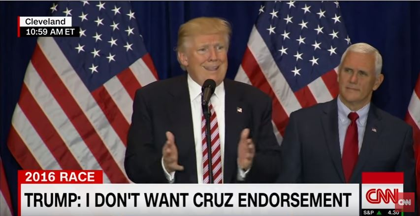 Trump obsesses about Ted Cruz during speech to RNC volunteers the day after he accepts the nomination for president