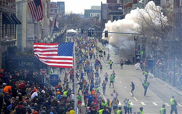Boston Marathon Bombing via Wikipedia