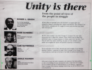 Unity July 18, 1988 issue