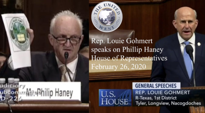 Louie Gohmert On The Life And Death Of Phillip Haney – Trevor Loudon's New Zeal Blog